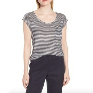 Nordstrom Stripe Pocket Tee Size XL
